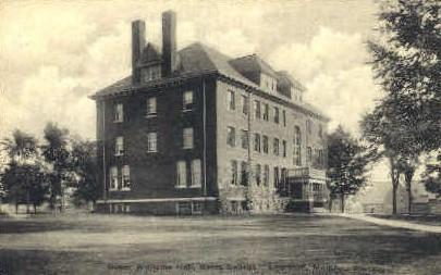 Roger Williams Hall, Bates College - Lewiston, Maine ME Postcard