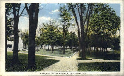 Bates College Campus - Lewiston, Maine ME Postcard
