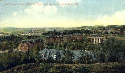 Bates College & Campus - Lewiston, Maine ME Postcard