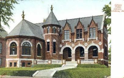 Auburn Public Library - Lewiston, Maine ME Postcard