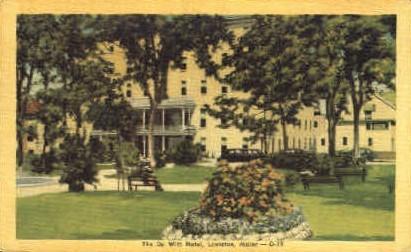 The De Witt Hotel - Lewiston, Maine ME Postcard