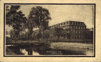 Androscoggin Mill - Lewiston, Maine ME Postcard