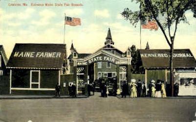 Maine State Fair Grounds - Lewiston Postcard