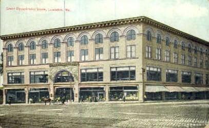 Great Department Store - Lewiston, Maine ME Postcard