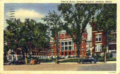 Central Maine General Hospital - Lewiston Postcard