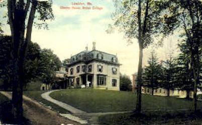 Cheney House, Bates College - Lewiston, Maine ME Postcard