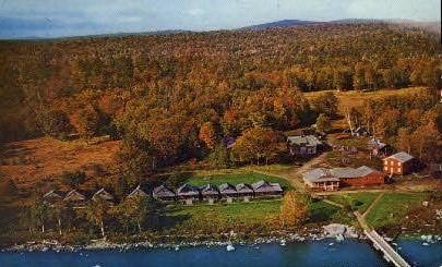 Lakewood Camps - Middledam, Maine ME Postcard
