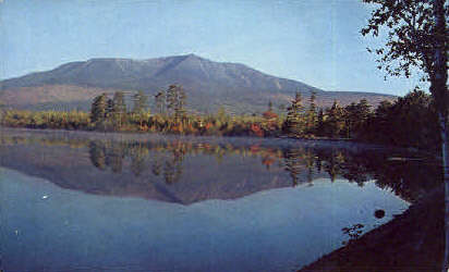 Togue Pond - Mt. Katahdin, Maine ME Postcard
