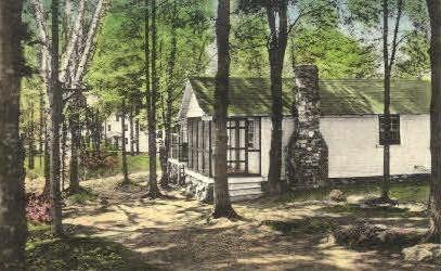 Cottages, Wabanaki Lodge - Monmouth, Maine ME Postcard