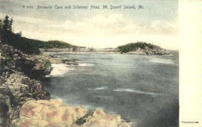 Anemone Cave & Schooner Head - Mt. Desert Island, Maine ME Postcard
