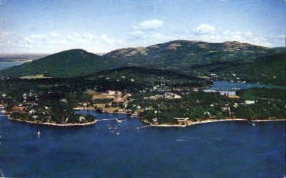 Northeast Harbor - Mt. Desert Island, Maine ME Postcard