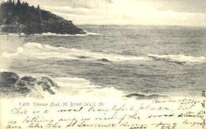 Schooner Head - Mt. Desert Island, Maine ME Postcard