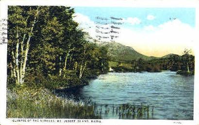 The Bubbles - Mt. Desert Island, Maine ME Postcard