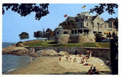 Bar Harbor Hotel - Mt. Desert Island, Maine ME Postcard