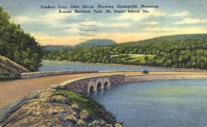 Viaduct, Otter Creek - Mt. Desert Island, Maine ME Postcard