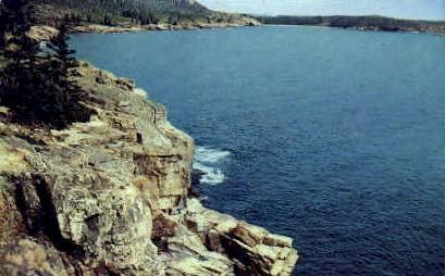 Otter Cliffs  - Mt. Desert Island, Maine ME Postcard