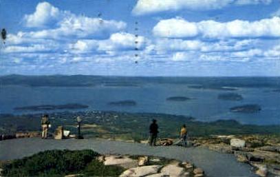 Bar Harbor - Mt. Desert Island, Maine ME Postcard
