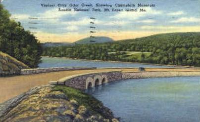 Otter Creek - Mt. Desert Island, Maine ME Postcard