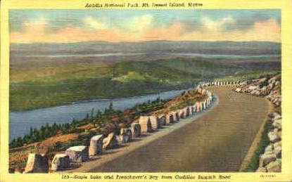 Eagle Lake - Mt. Desert Island, Maine ME Postcard