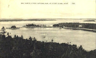 Seal Harbor  - Mt. Desert Island, Maine ME Postcard