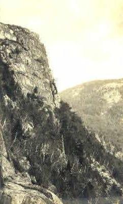 Cliffs, Jordan Mt.  - Mt. Desert Island, Maine ME Postcard