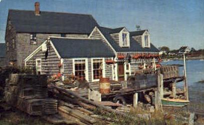 A Maine Fisherman's Shack - Misc Postcard
