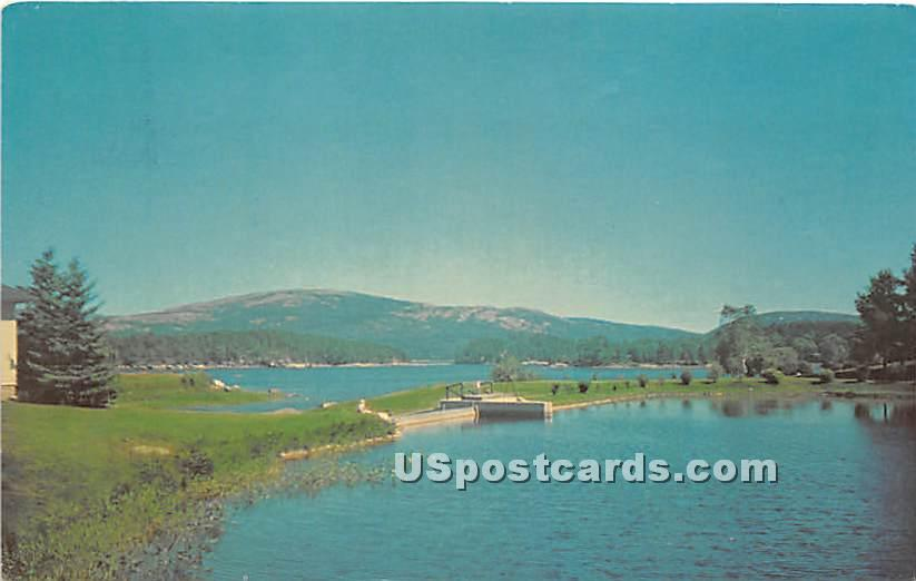 The head of the fjord formed by Somes Sound - Mount Desert Island, Maine ME Postcard