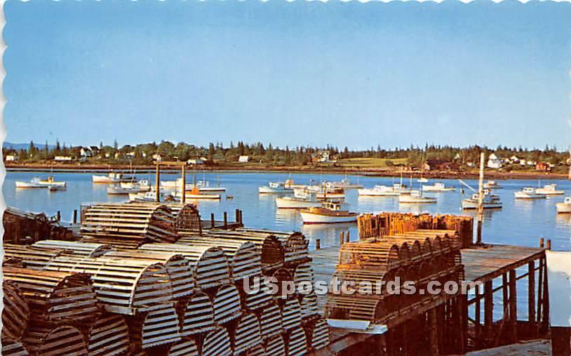 Bass Harbor - Mount Desert Island, Maine ME Postcard