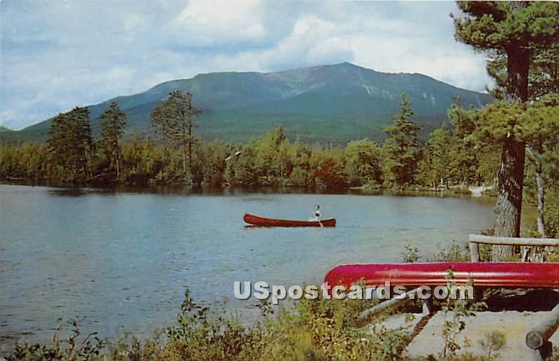 Togue Pond Camps - Mt. Katahdin, Maine ME Postcard