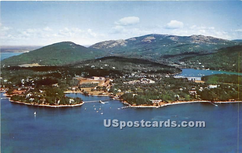 Northeast Harbor - Mount Desert Island, Maine ME Postcard