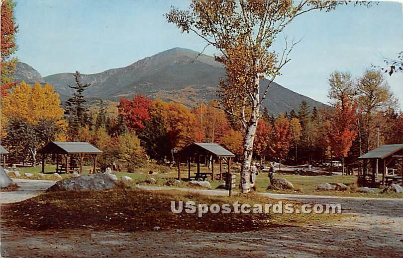 Pitman Campground - Mt. Katahdin, Maine ME Postcard