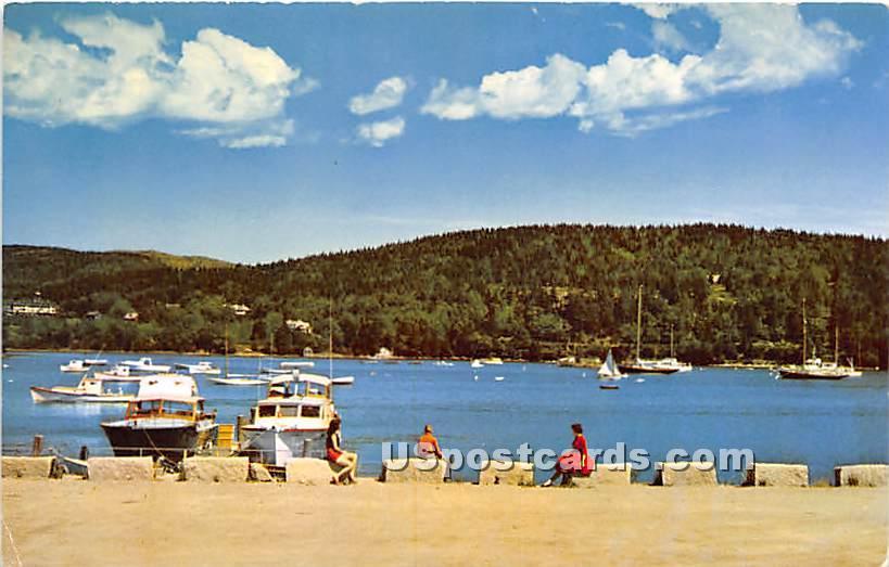 Marina at Northeast Harbor - Mount Desert Island, Maine ME Postcard