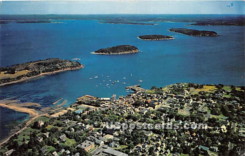 Bar Harbor - Mount Desert Island, Maine ME Postcard