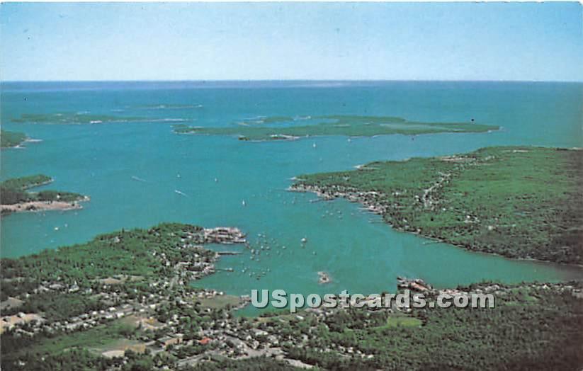 Southwest Harbor - Mount Desert Island, Maine ME Postcard