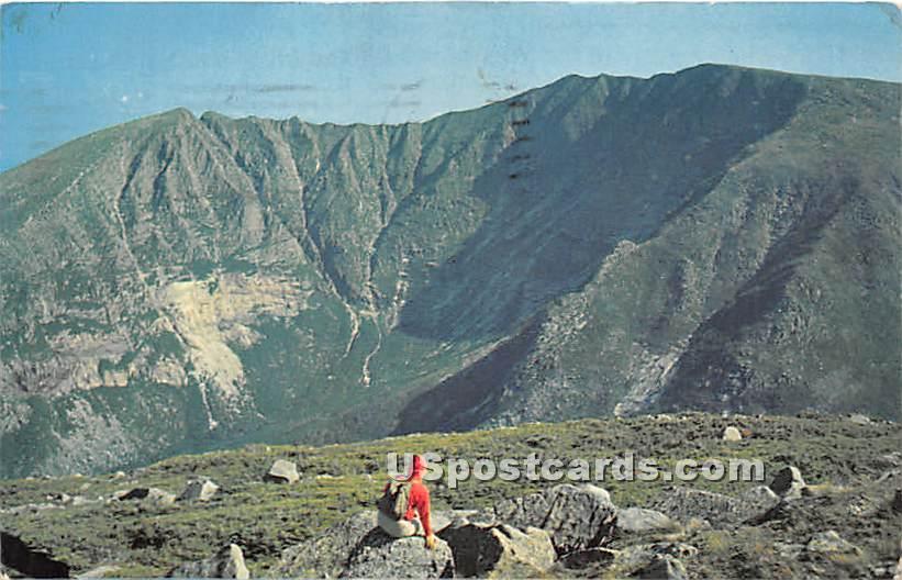 Appalachia Trail - Mt. Katahdin, Maine ME Postcard