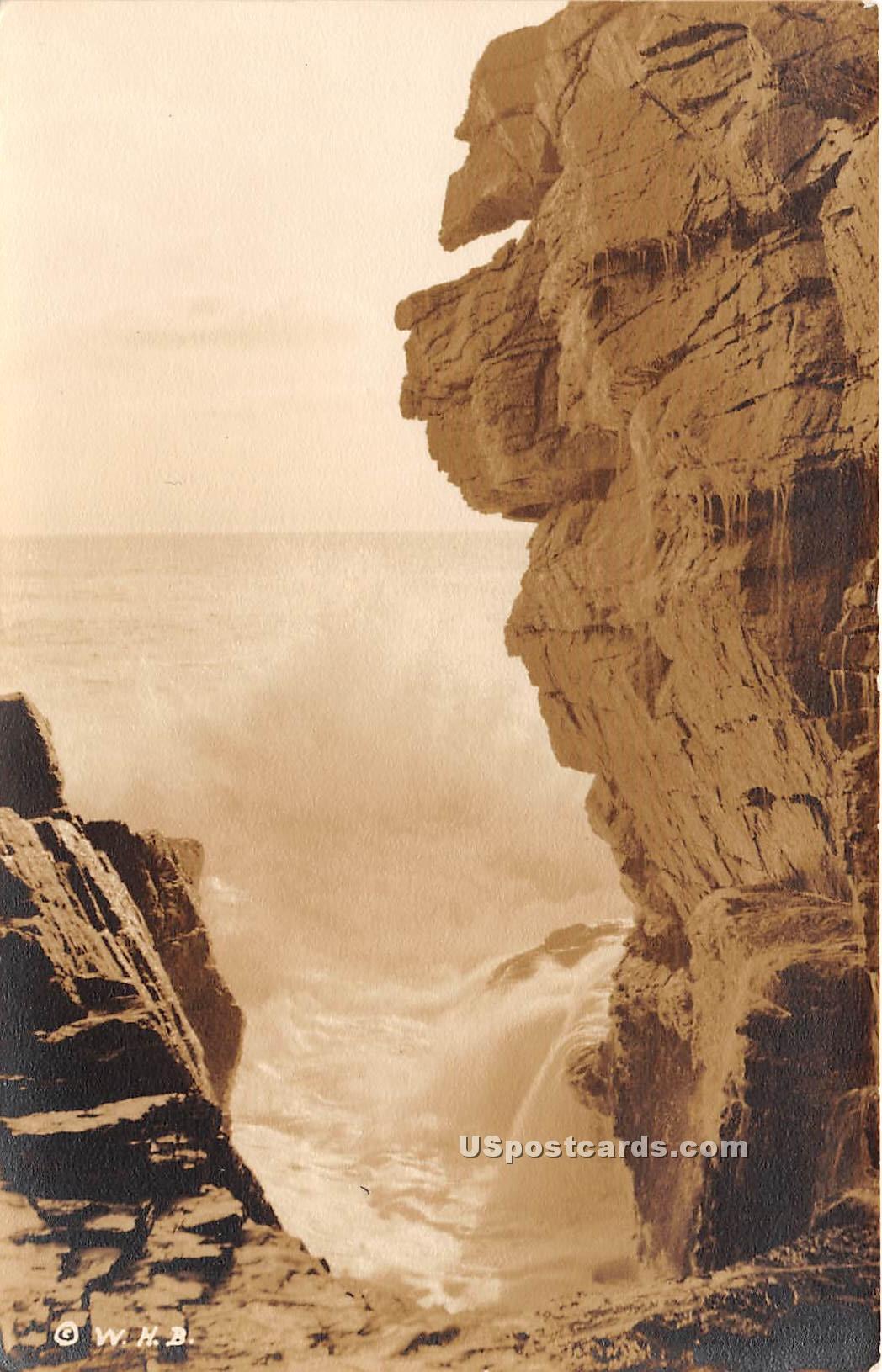 Thunder Hole - Mount Desert Island, Maine ME Postcard