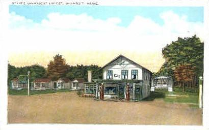 Stair's Overnight Lodge - Ogunquit, Maine ME Postcard