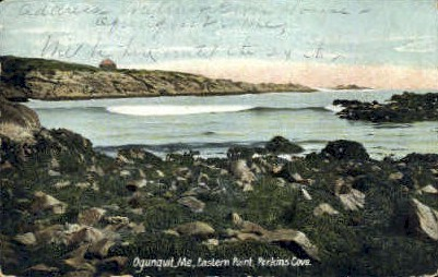 Eastern Point, Perkins Cove - Ogunquit, Maine ME Postcard