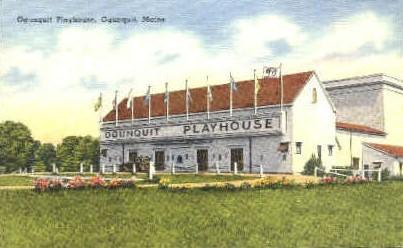 Ogunquit Playhouse - Maine ME Postcard