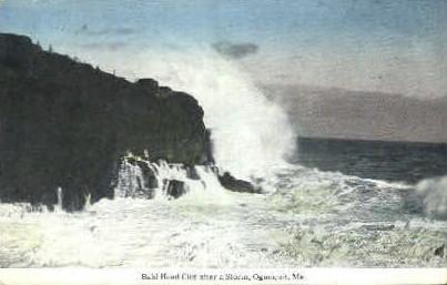 Bald Head Cliff - Ogunquit, Maine ME Postcard
