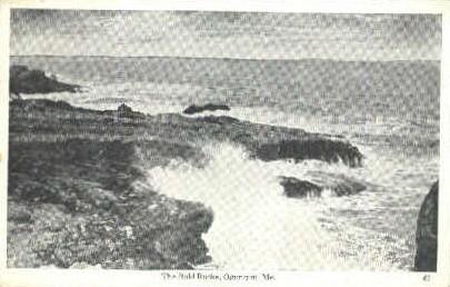 The Bold Rocks - Ogunquit, Maine ME Postcard