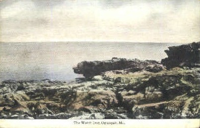 The Watch Dog - Ogunquit, Maine ME Postcard