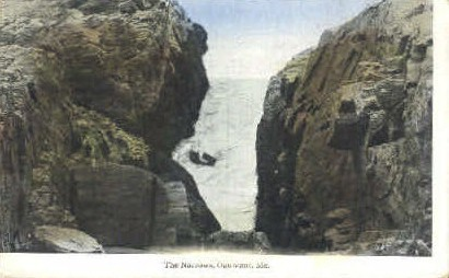 The Narrows - Ogunquit, Maine ME Postcard