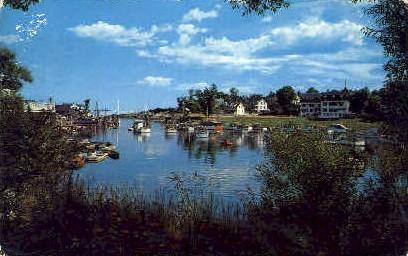 Harbor - Ogunquit, Maine ME Postcard