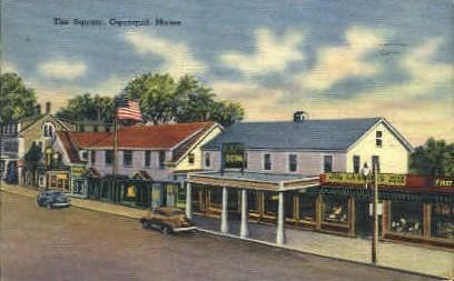 The Square - Ogunquit, Maine ME Postcard