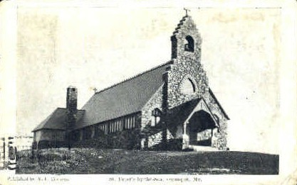 St. Peter's-by-the-Sea - Ogunquit, Maine ME Postcard