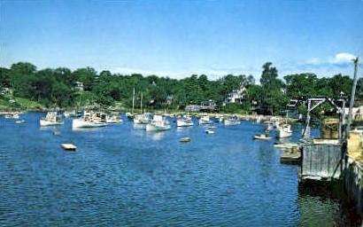 Harbor, Perkins Cove - Ogunquit, Maine ME Postcard