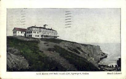 Cliff House & Bald Head Cliffs - Ogunquit, Maine ME Postcard