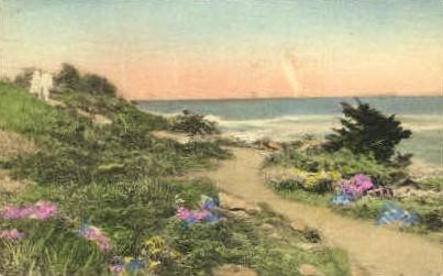 The Winding Marginal Way - Ogunquit, Maine ME Postcard