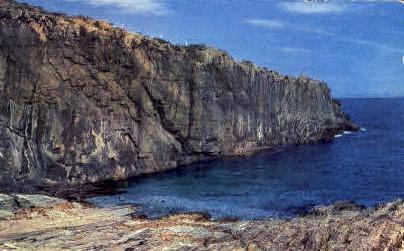 Baldhead Cliff - Ogunquit, Maine ME Postcard